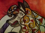 Декоративный Волк