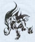 Горящий Волк